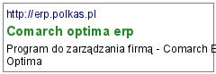 Comarch optima erp